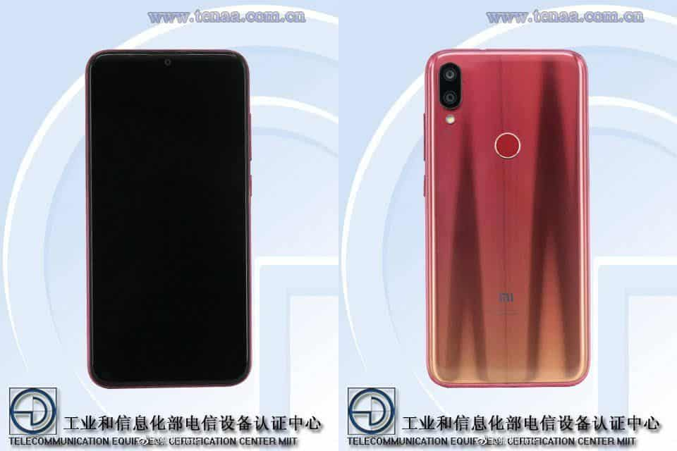 Xiaomi play teasers reveal front and rear design