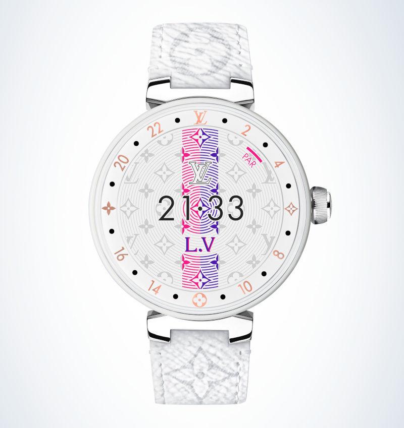 Louis vuitton tambour horizon smartwatch 2019 edition earlier with sd wear 3100