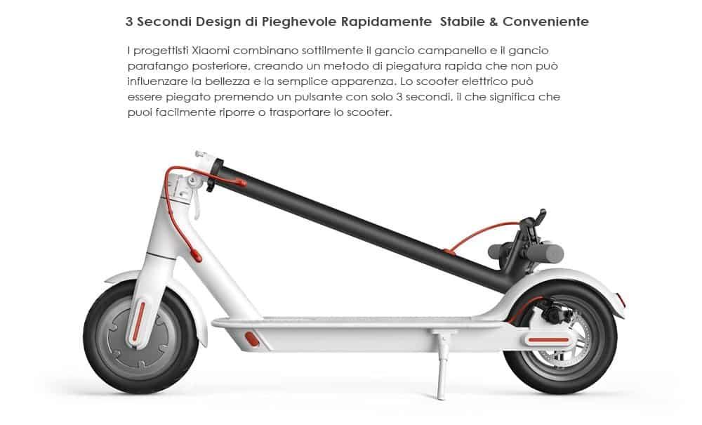 🔥originale xiaomi m365 scooter elettrico pieghevole