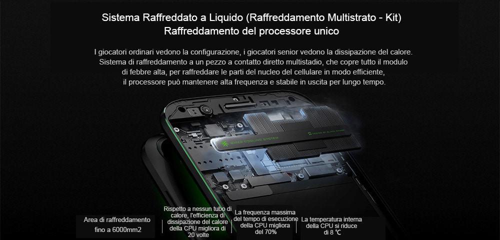 🔥xiaomi black shark 4g smartphone versione globale 8gb di ram 128gb di rom