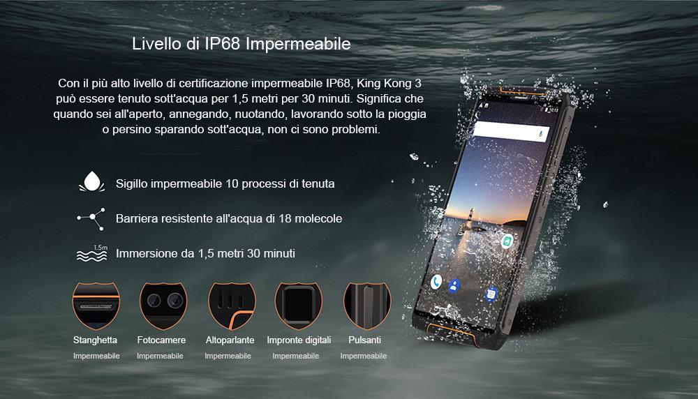 🔥cubot king kong 3 smartphone 4gb ram 64gb rom