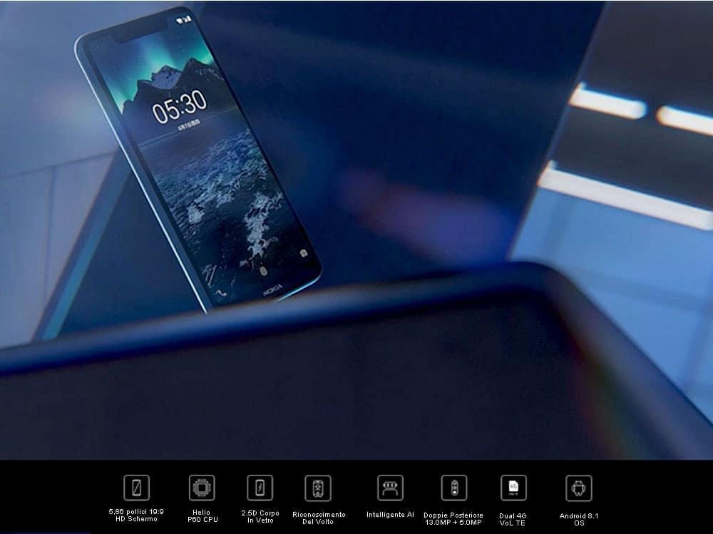 🔥nokia x5 smartphone versione internazionale