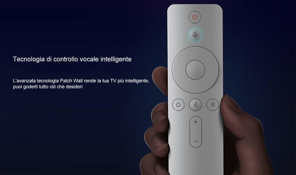 49 eur🔥originale xiaomi mi4 box 4 bluetooth controllo di voce tv box