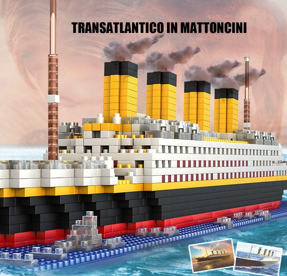 16 eur 🔥giocattoli fai da te di giocattolo a costruzione a forma di titanici per ragazzi