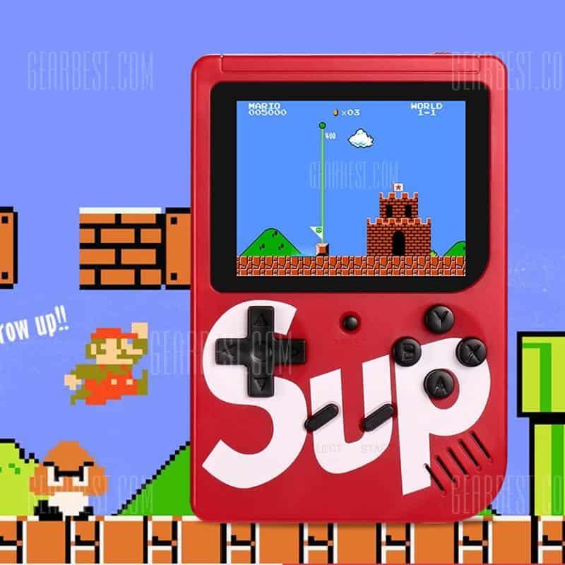 🔥console di gioco portatile nostalgic sup x game box 400 in 1