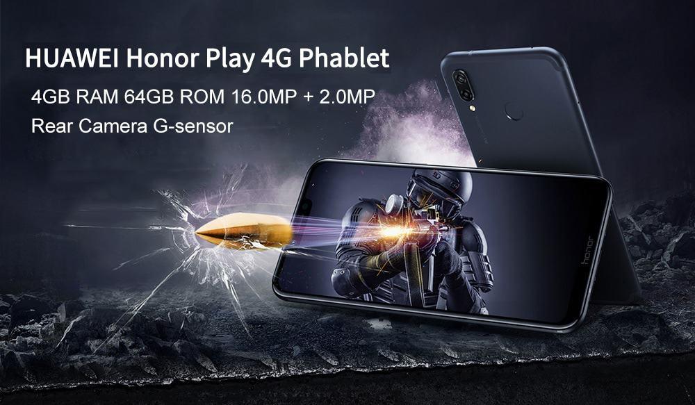 🔥huawei honor play  4+64gb globale