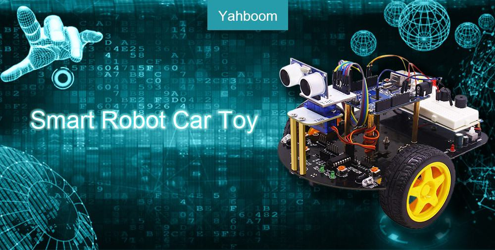 🔥yahboom stem robot intelligente auto 2 in 1 giocattolo educativo fai da te per arduino