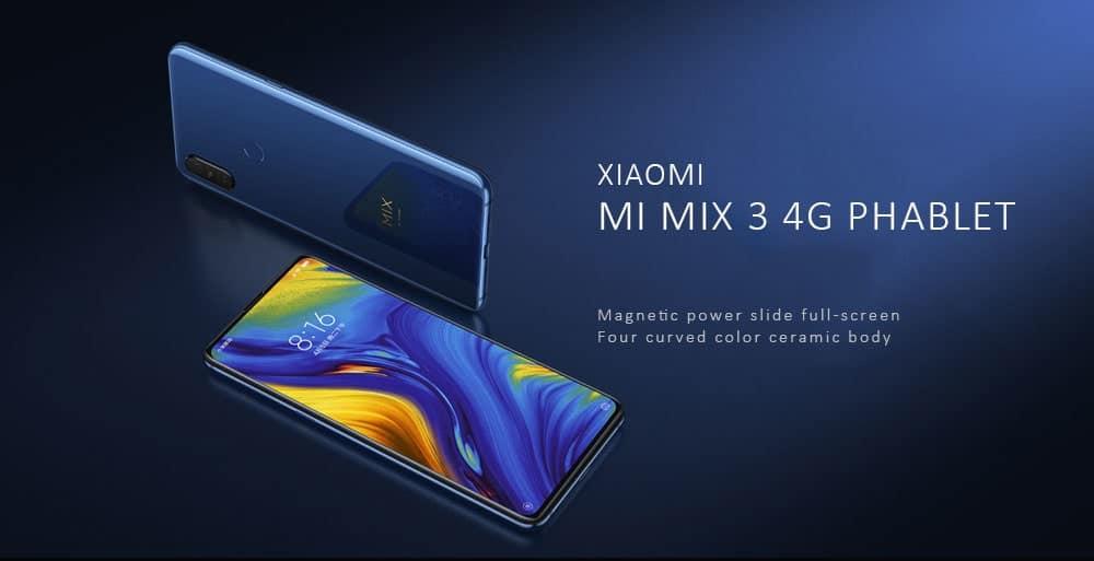 Xiaomi mi mix 3 4g 6+128gb globale