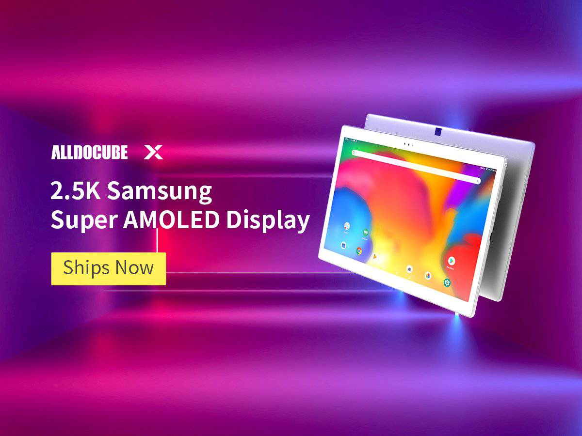 Alldocube x starts shipping on indiegogo currently