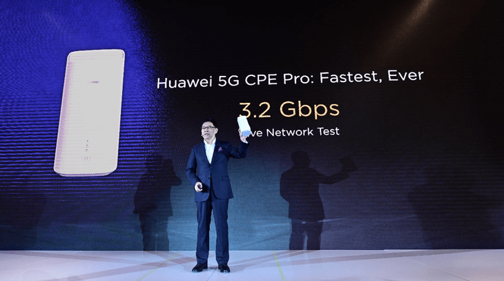 Huawei makes public balong 5000 5g modem with up to 6.5 gbps 5g speeds