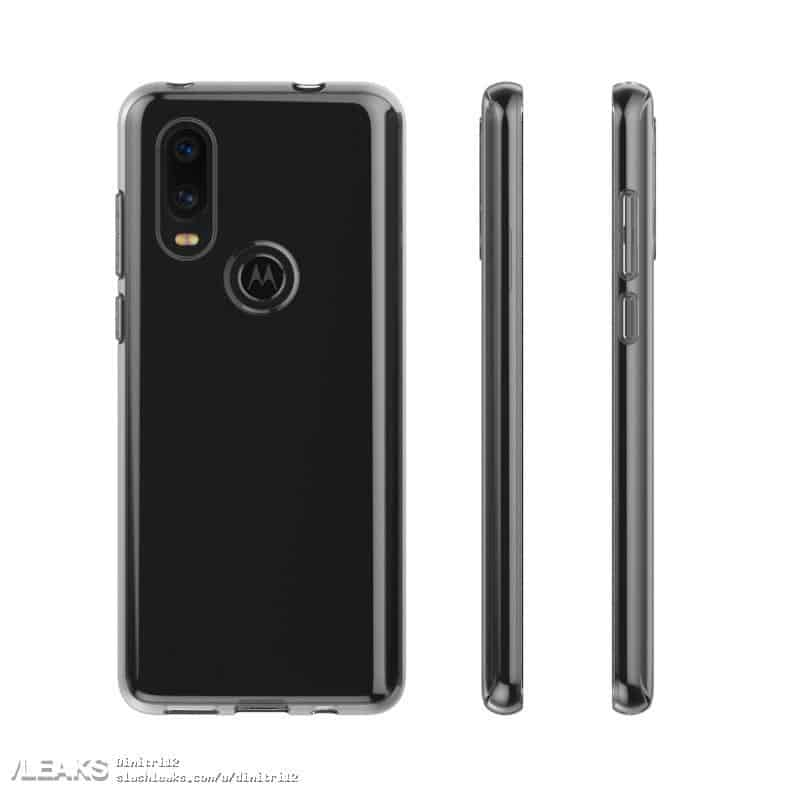 Motorola p40, moto z4 play design leaked through case renders