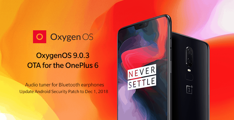 Oxygenos 9.0.3 improve brings improvements to the oneplus 6