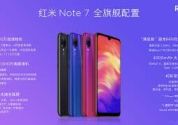 Redmi Note 7 with top quality glass body and 48MP camera is presently official for only  usd 147