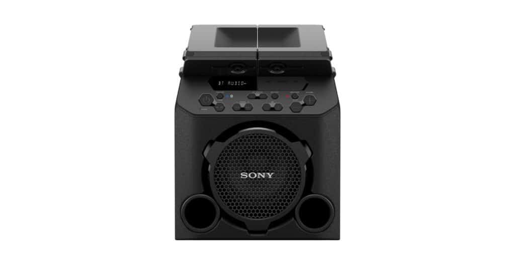 Sony new party speakers arrive with beer cup holders and 13 hrs battery