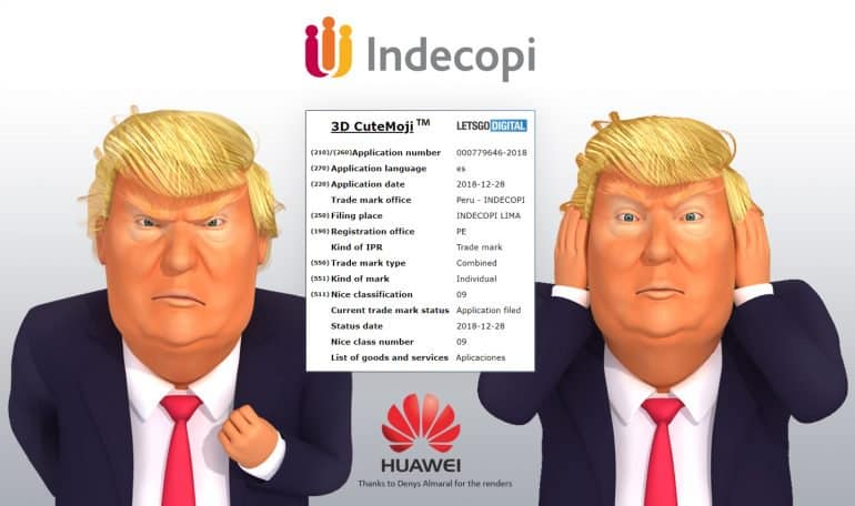 """""""3d cutemoji"""" filed by huawei could feature on the p30 series"""