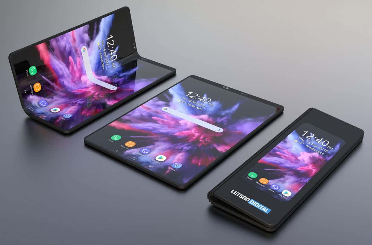 Samsung's foldable cameraphone showcased to few special buyers
