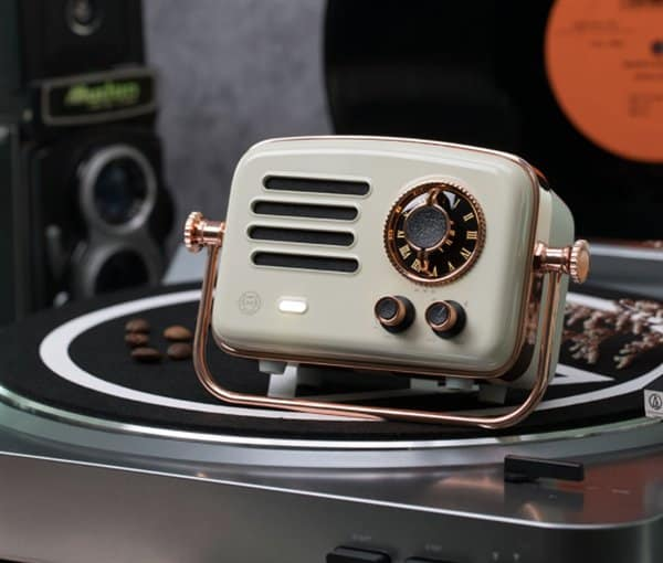 Xiaomi releases the retro-styled elvis presley radio with hifi sound top quality