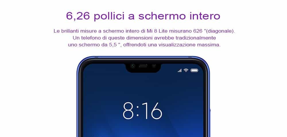 🔥xiaomi mi8 lite 4+64gb globale