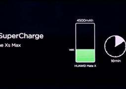 Huawei's 55W SuperCharge technology will be special to the Mate X for the time being