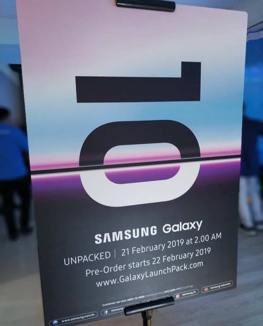 Samsung galaxy 10 pre-order begins on february 21