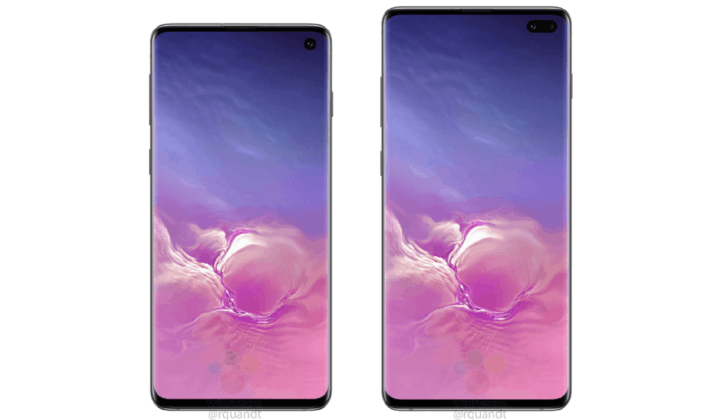 Samsung galaxy s10 and s10+ selfie digital cameras may perhaps support ois and 4k video recording