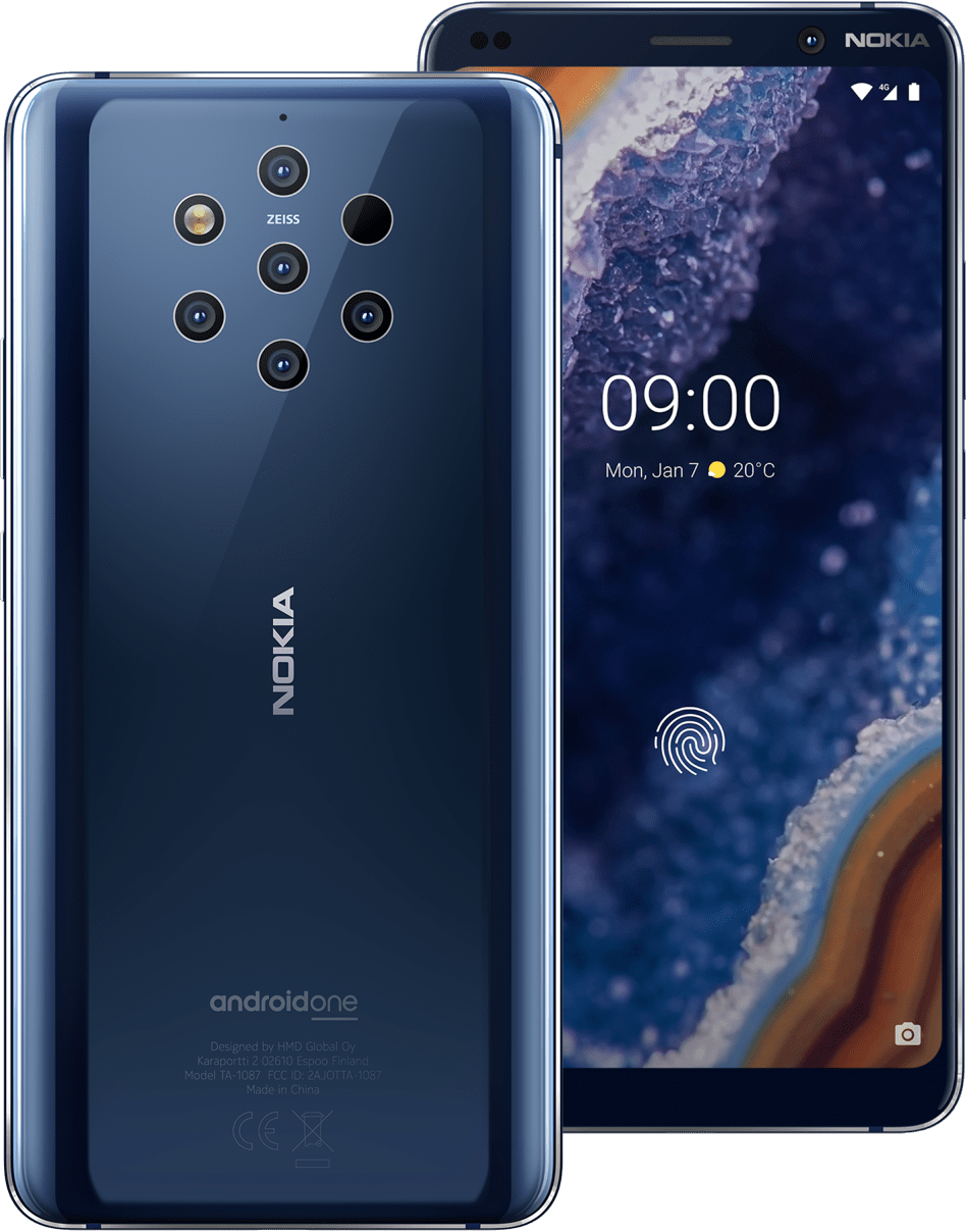 Nokia 9 pureview with penta-lens option introduced – specs