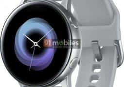 Render of Samsung Galaxy Sport smartwatch leaks revealing the design