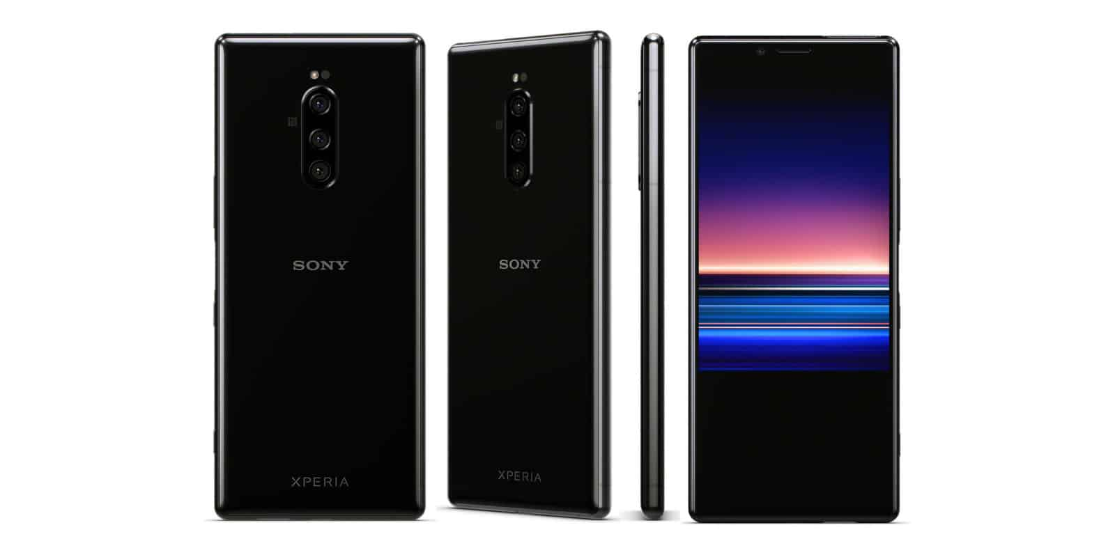 Sony starts innovative with its xperia 1 flagship with 21:9 cinematic 4k oled screen & triple digital cameras