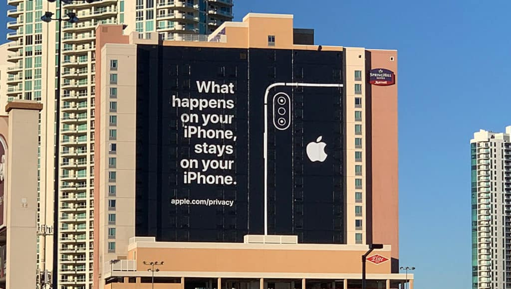 New iphone 'privacy matters' tv ad, watch it on the air