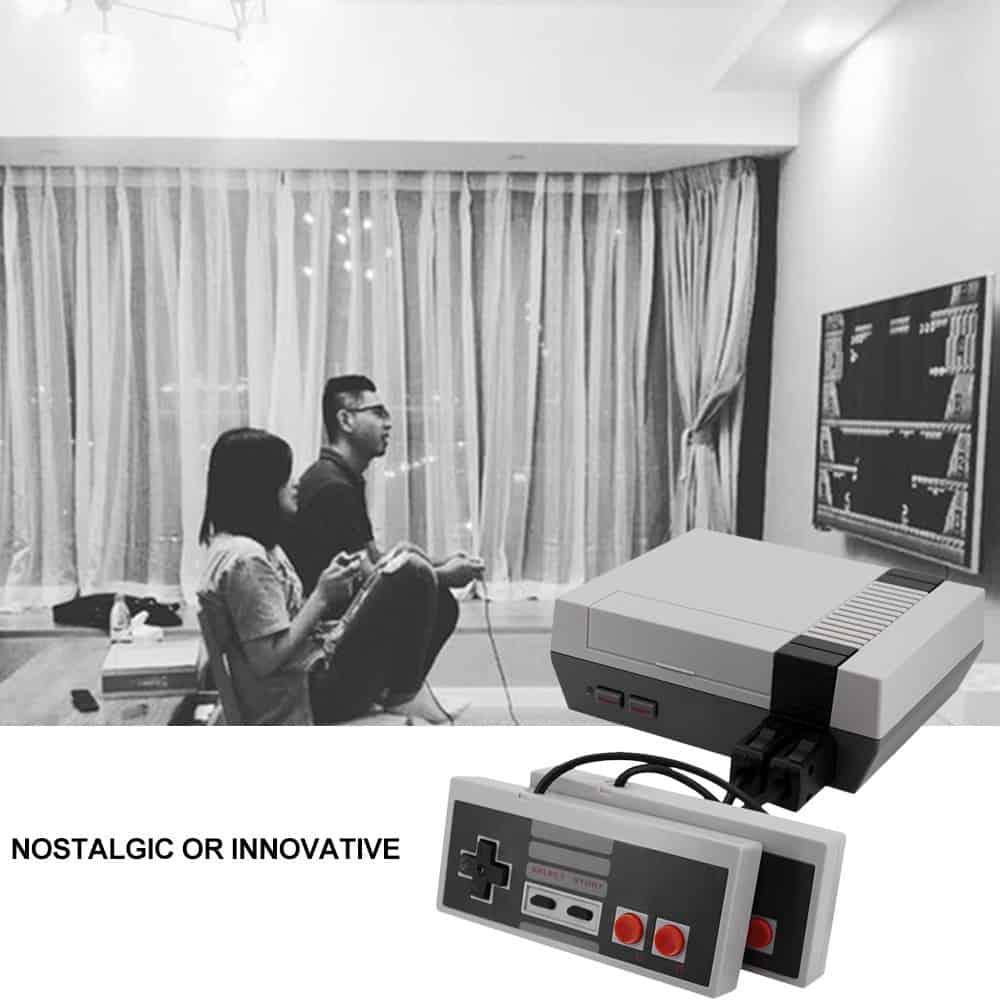 Mini classical family game console
