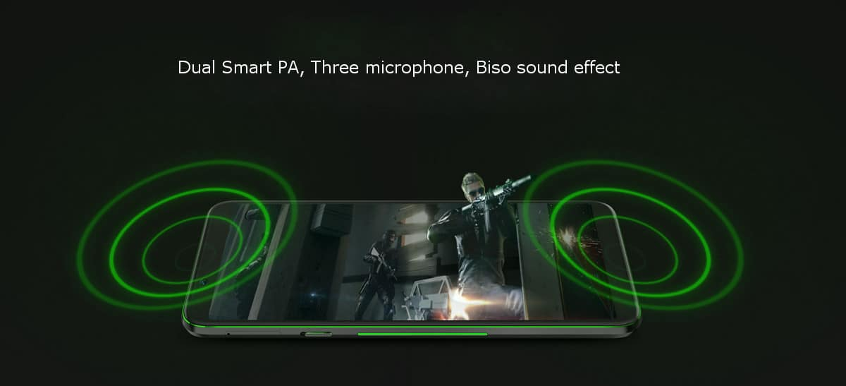 Xiaomi black shark helo 6,01 pollici 8 gb ram 128 gb rom snapdragon 845 octa core 4g gaming smartphone
