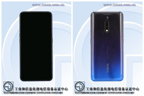 Realme phones certified in China, Pop-Up Camera design expected