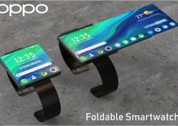 OPPO files patent for a foldable smartwatch