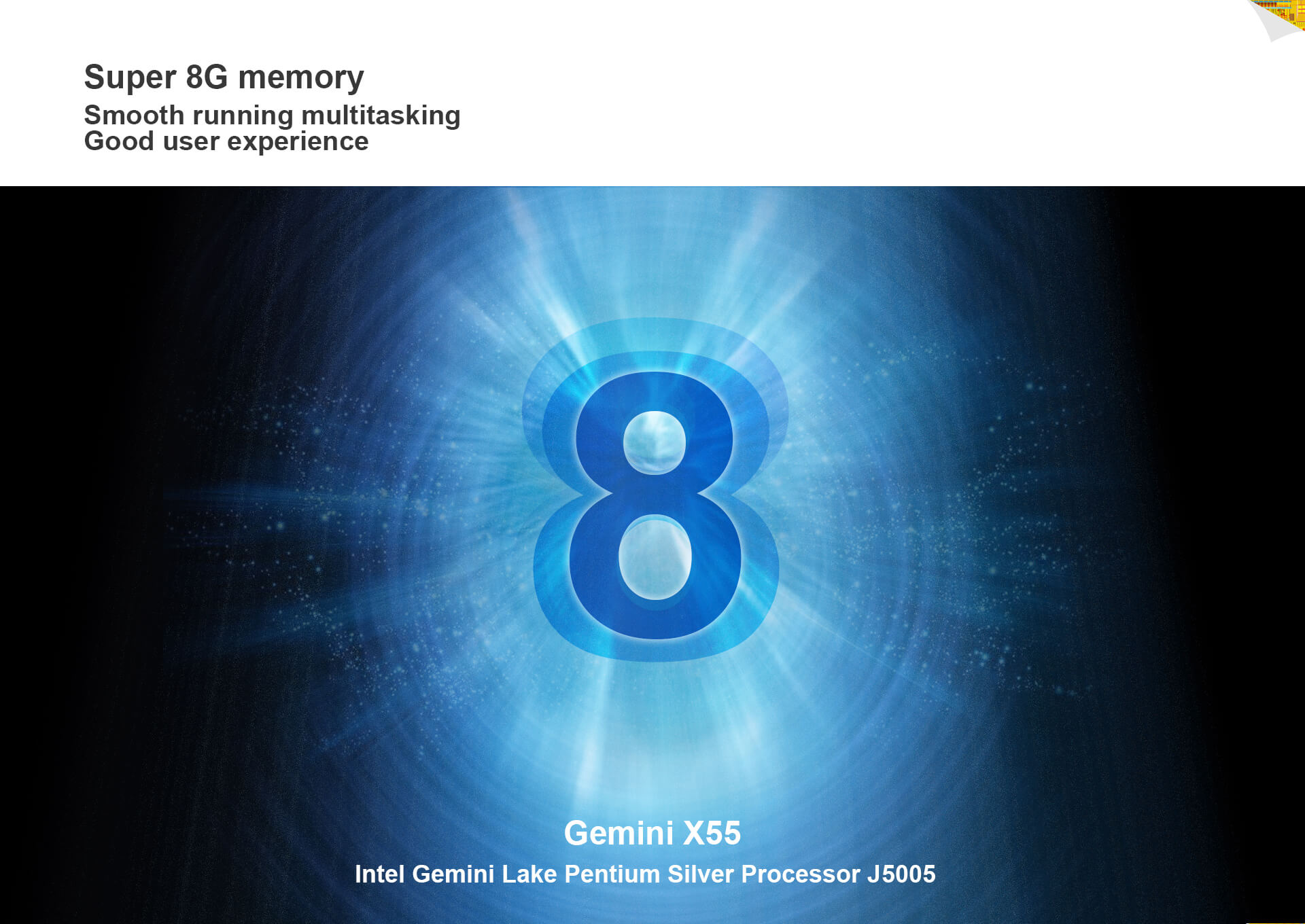 Gemini X55 8GB RAM