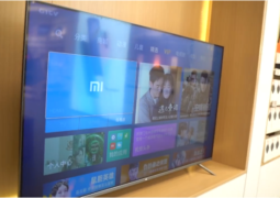 Xiaomi 8K Mi TV Pro displays its frameless design and splendid metal frame in formal video