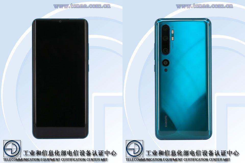 Xiaomi Mi CC9 Pro will have a dual Curved display  Waterdrop notch 2