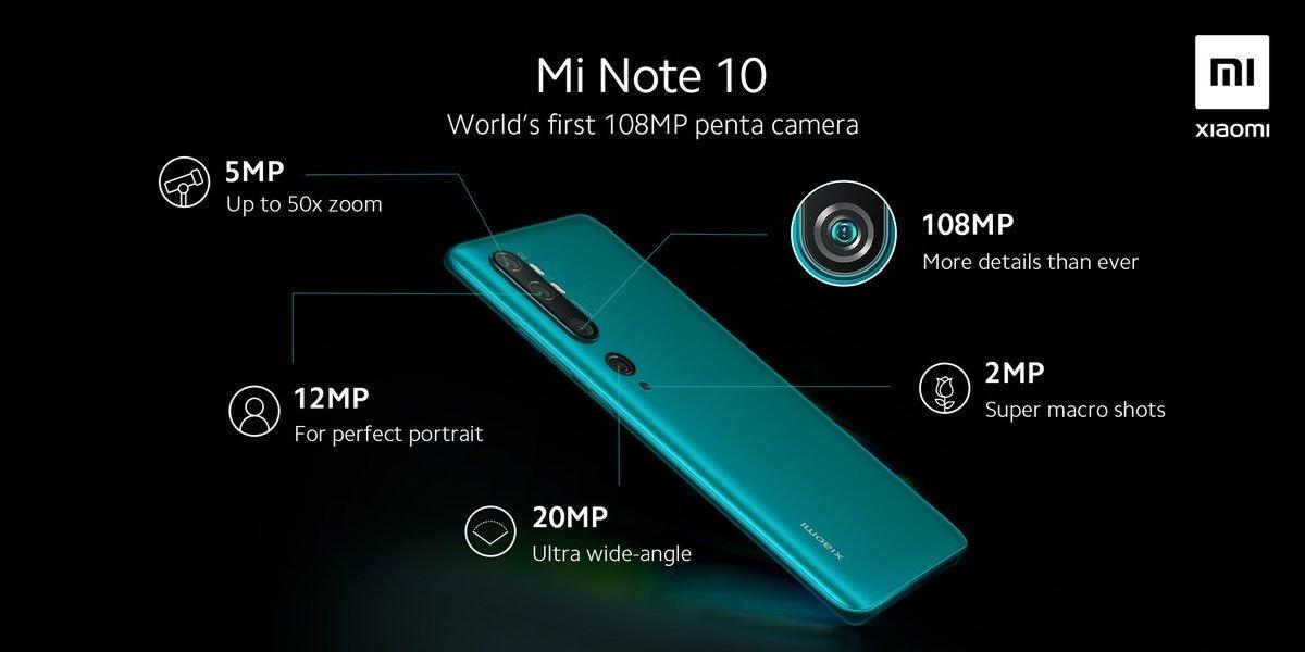 Xiaomi Mi Note 10 launching on November 6 in Spain 2
