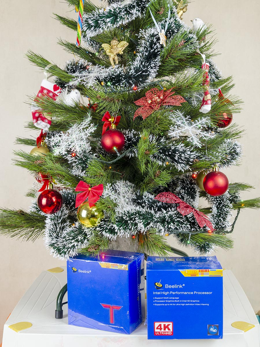 beelink BT4 christmas tree