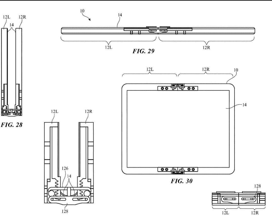 Apple patents foldable device, with Moving flaps 2