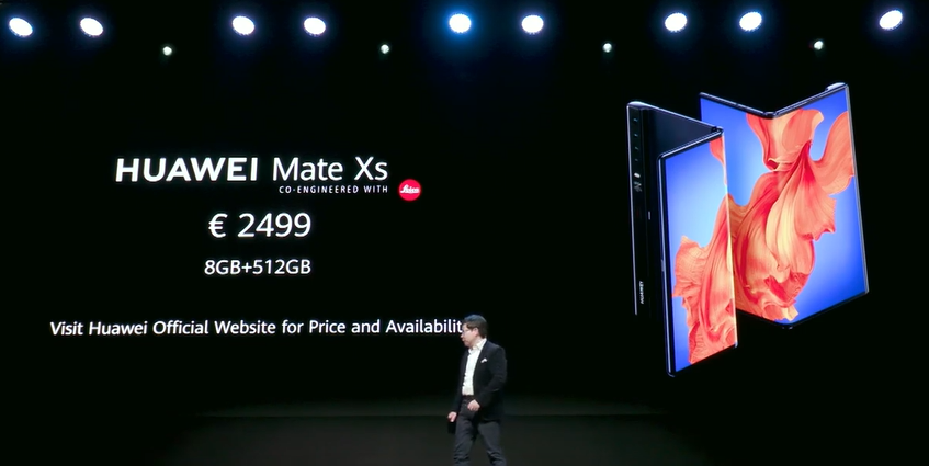 Huawei Mate Xs launches next month 6