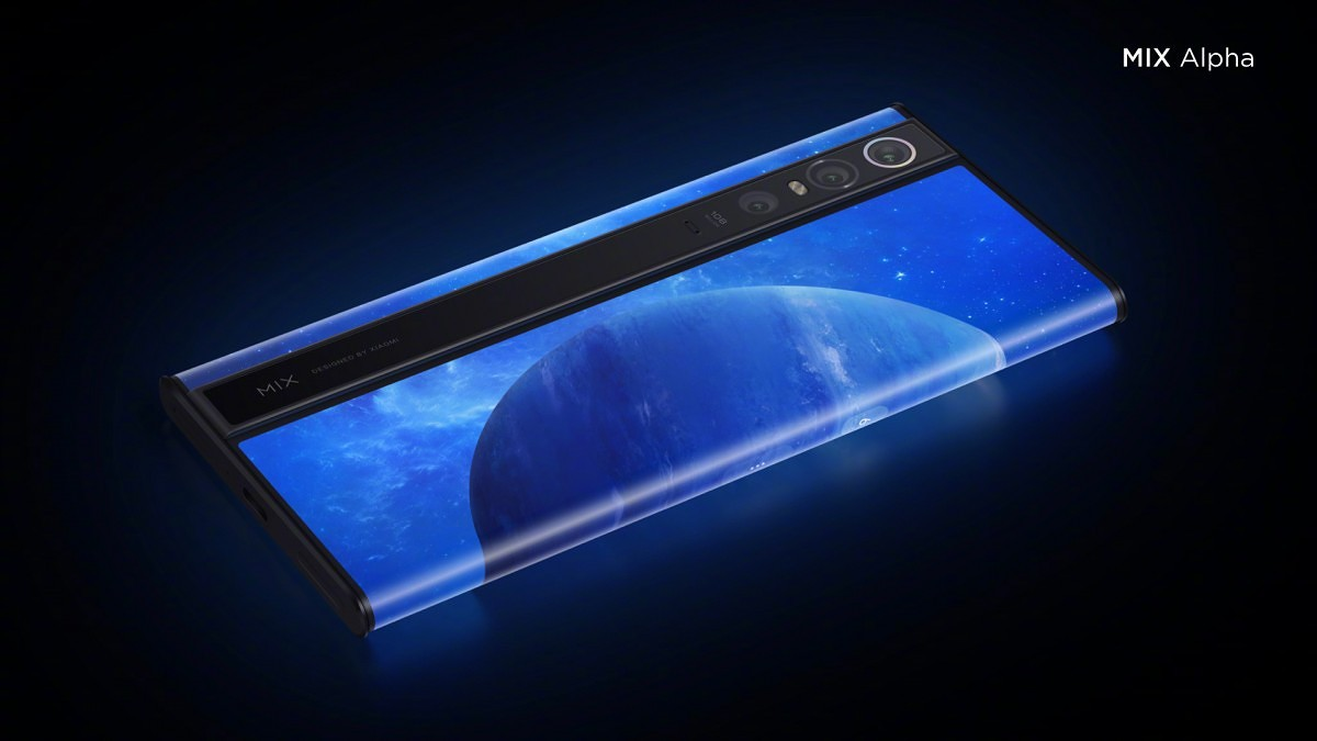 Xiaomi patents a fresh surrounding panel telephone, might be a commercial version of Mi MIX Alpha