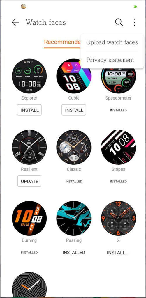 how to enable huawei watch gt 2 watchfaces on latest health and huawei services without chinese id