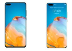 Huawei P40 and P40 Pro press renders reveal front and rear design