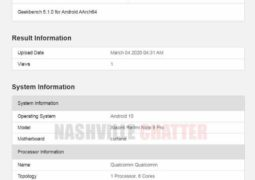 Redmi Note 9 Pro appears to be ahead of launch on Geekbench
