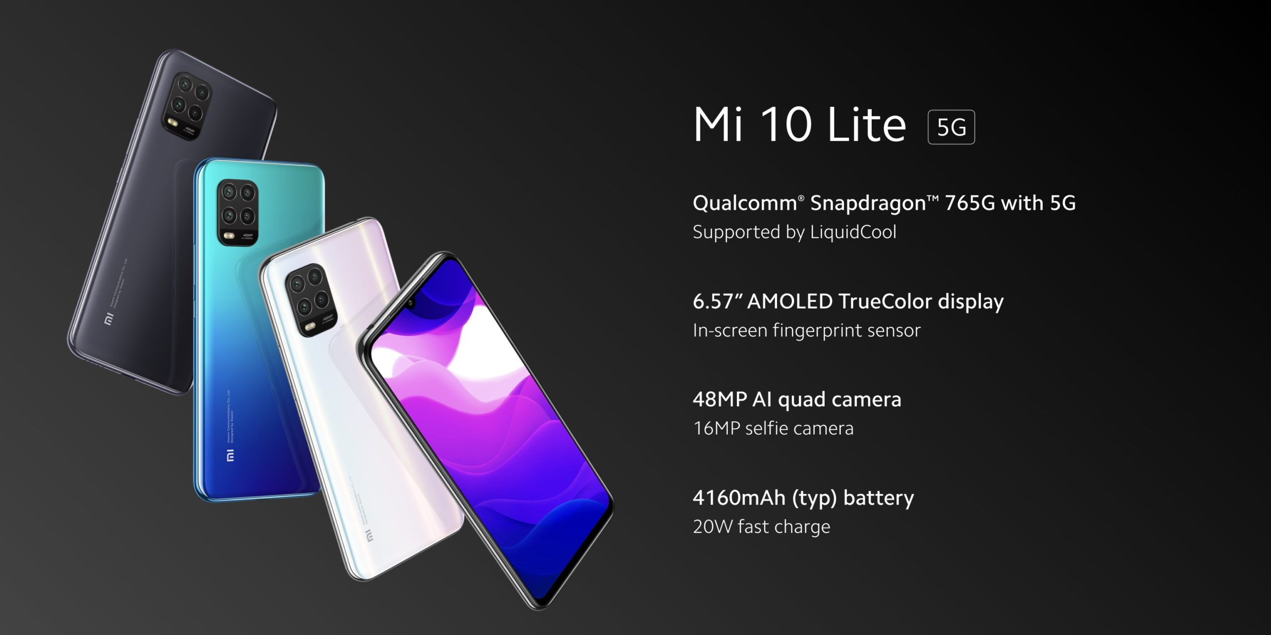 Xiaomi Mi 10 Lite 5G announced in Europe with a Snapdragon 765G