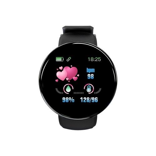 D18 Smart Watch 1.3 inch TFT Screen IP65 Waterproof Bracelet Sport Wristband
