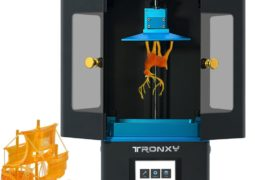 Tronxy UV Resin 3D Printer EU Warehouse Touchscreen 2K Screen Support
