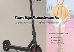 Xiaomi Mijia Electric Scooter Pro 8.5 Inch Two Wheel Quick Folding Scooter 45km Mileage – EU Warehouse