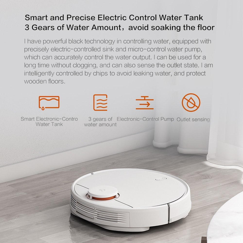 Xiaomi Pro Robotic Vacuum Cleaner Household Floor Cleaning Mopping Robot