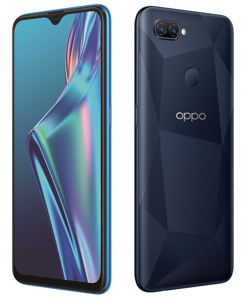 OPPO A12 with a waterdrop notch launched in India